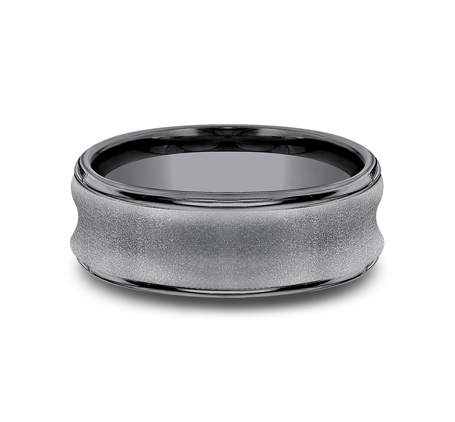7.5MM CONCAVED TANTALUM BAND RECF87500TA 2 - 7.5MM CONCAVED TANTALUM BAND RECF87500TA