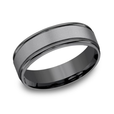 7MM COMFORT FIT BAND RECF7702STA - 7MM COMFORT-FIT BAND RECF7702STA