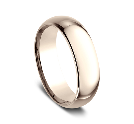 7MM ROSE GOLD BEAUTIFUL BAND LCF170R 1 - 7MM ROSE GOLD BEAUTIFUL BAND LCF170R
