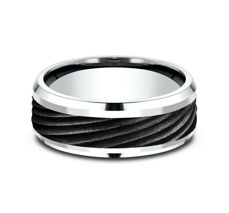 8MM BLACK TITANIUM BAND CF458744BKTW 2 - 8MM BLACK TITANIUM BAND CF458744BKTW