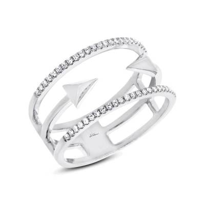 0.15ct 14k White Gold Diamond Ladys Ring SC55002505 - 0.15ct 14k White Gold Diamond Lady's Ring SC55002505