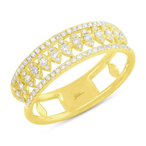 0.30ct 14k Yellow Gold Diamond Ladys Ring SC55006584 - 0.30ct 14k Yellow Gold Diamond Lady's Ring SC55006584