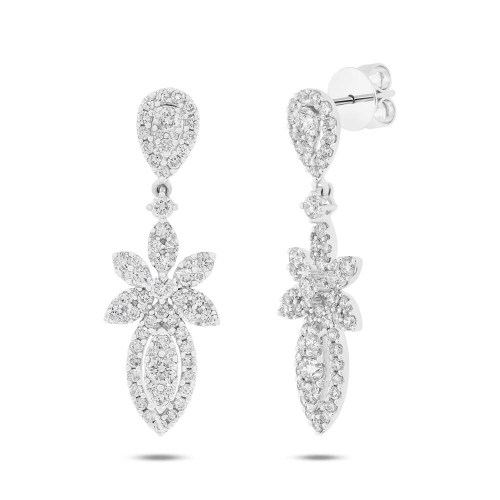 2.37ct 18k White Gold Diamond Earring SC62008873 - 2.37ct 18k White Gold Diamond Earring SC62008873
