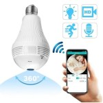 Wireless CCTV Bulb Camera Bovic