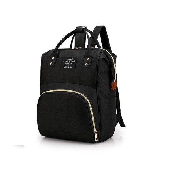Mum Diaper Bag Black 2
