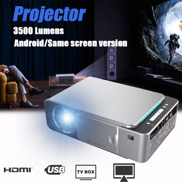 New LED Video Projector HD T6 4K Full HD 1080p Cinema www.bovic.co.ke