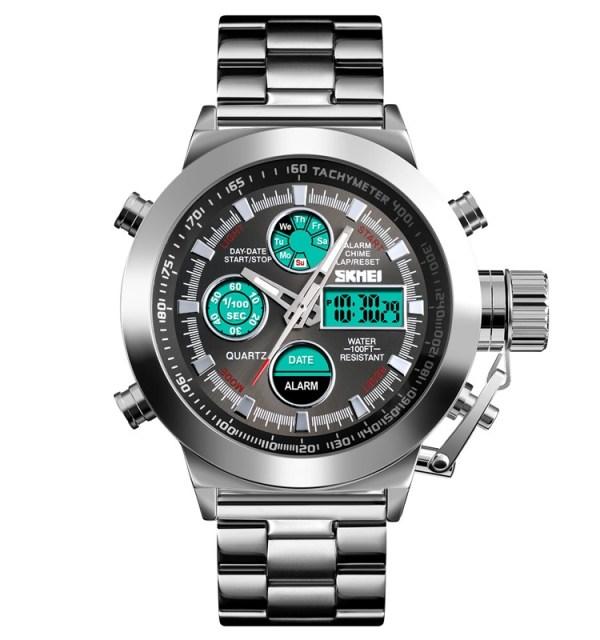 1515 Skmei watch silver www.bovic.co.ke