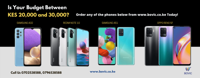 Samsung Banner under 30K Budget Advert April 2021