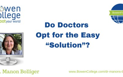 """Do Doctors Opt for the Easy """"Solution""""?"""