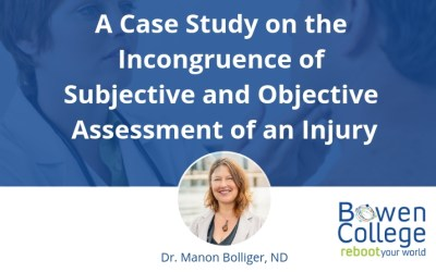 A Case Study on the Incongruence of Subjective and Objective Assessment of an Injury