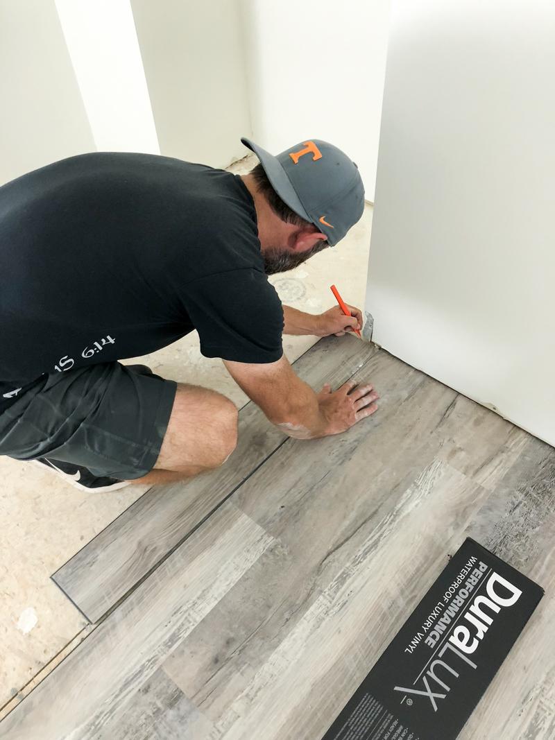 to install luxury vinyl plank flooring