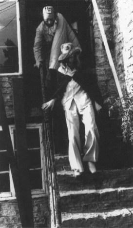 David Bowie at the Glastonbury Festival, Worthy Farm, Somerset, June 1971