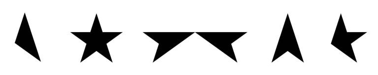 David Bowie –Blackstar album lettering by Barnbrook