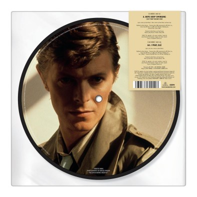 Boys Keep Swinging –2019 picture disc (rear)
