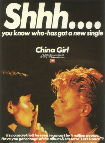 Advertisement for China Girl