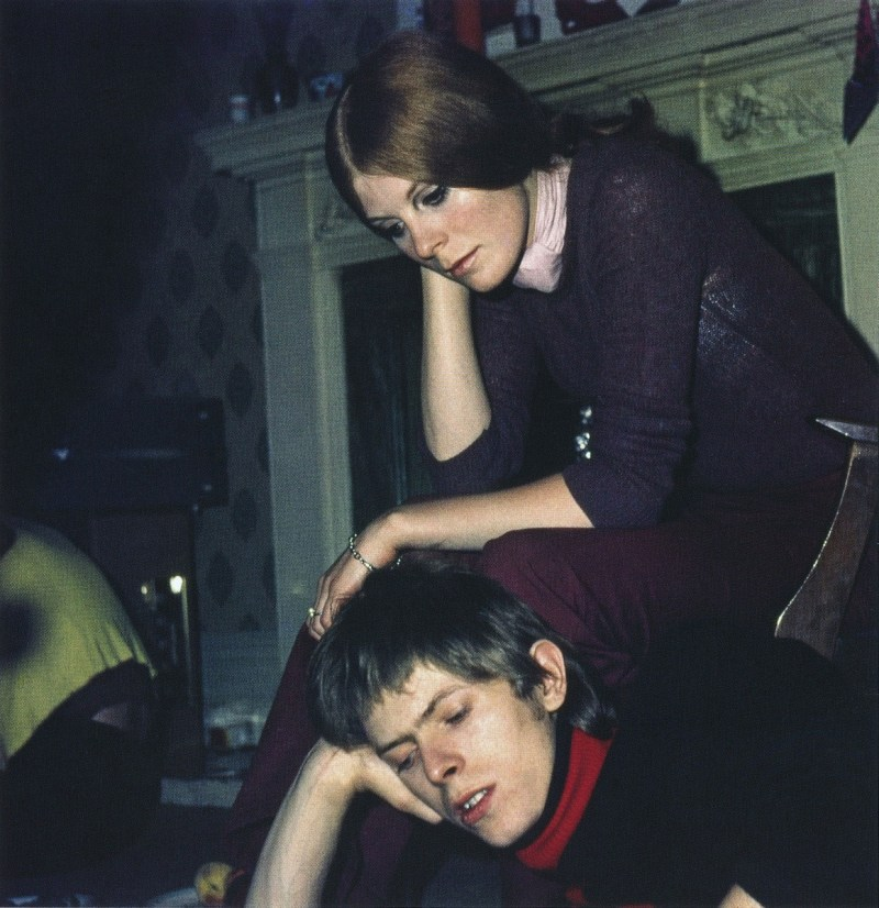 David Bowie and Hermione Farthingale