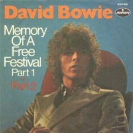 Memory Of A Free Festival single –Germany