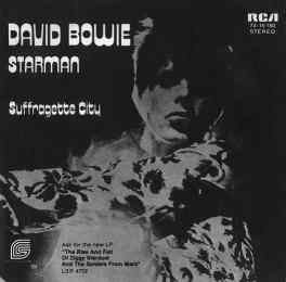 Starman single – Germany