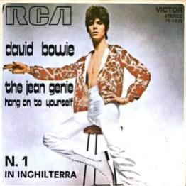 The Jean Genie single –Italy