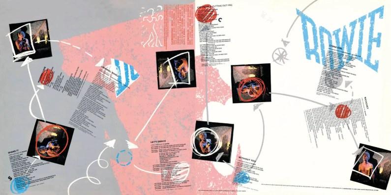 Let's Dance –inner sleeve artwork