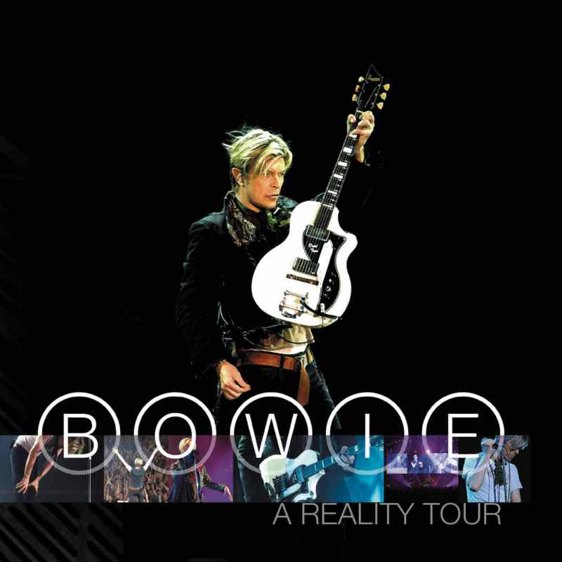 A Reality Tour album cover