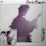 David Bowie Interview LP (Scary Monsters) front cover