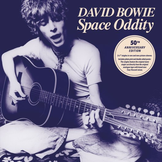Space Oddity 50th Anniversary Edition single cover (2019)