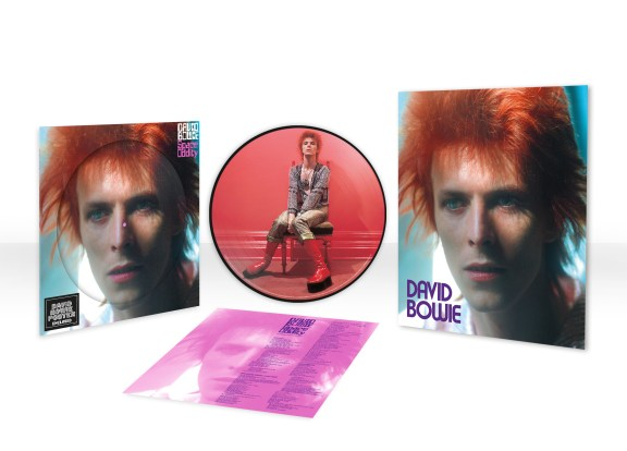 Space Oddity vinyl album picture disc (2020)