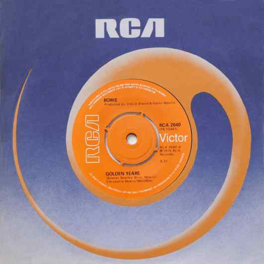 Golden Years single – United Kingdom
