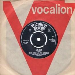 Liza Jane single –United Kingdom