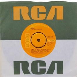 Rock 'N' Roll Suicide single –United Kingdom