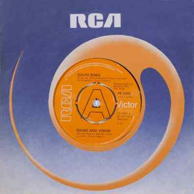 Sound And Vision single –United Kingdom