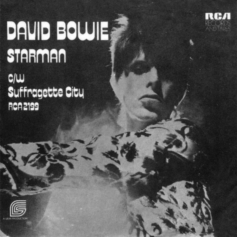 Starman single –United Kingdom