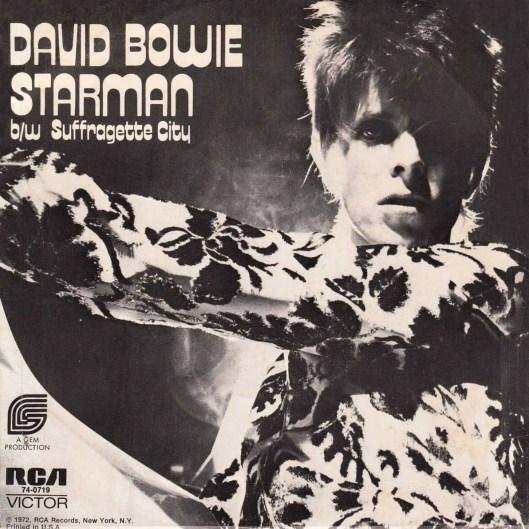 Starman single –USA