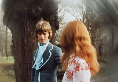 Still of David Bowie and Hermione Farthingale in Love You Till Tuesday, 1969