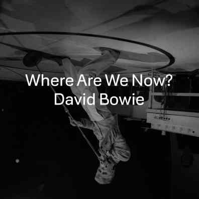 Where Are We Now? single artwork