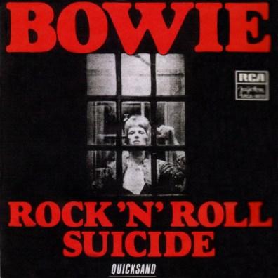 Rock 'N' Roll Suicide single –Yugoslavia