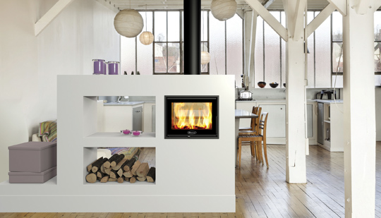 Wood-burning stoves now appeal to all areas of the population