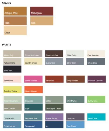 Photo Colour Options
