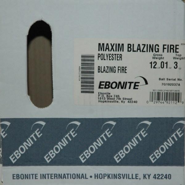 Maxim Blazing Fire 3