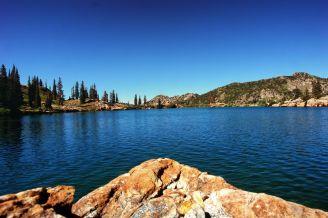 Cecret Lake in Alta, UT