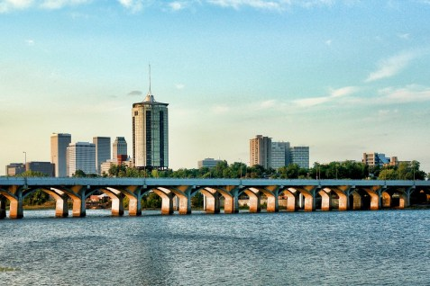 Tulsa Skyline looking NE.