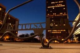 Downtown Tulsa Bison