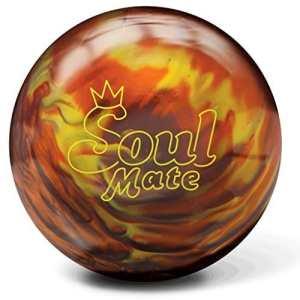 Brunswick Soul Mate Bowling Ball- Orange Fire Pearl (12lbs) by Brunswick Bowling Products
