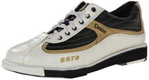 Dexter SST 8 Chaussures de bowling pour homme Blanc Blanc/noir/doré US 13, UK 11.5