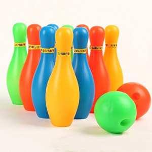 New 17cm Plastique de bowling Lot Mini Interaction Leisure avec boule et épingles