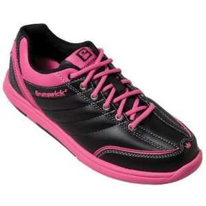 Chaussures de bowling pour femme brunswick diamond black/hot pink Noir/magenta Taille 38