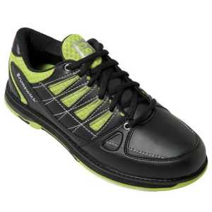 Homme Chaussures de bowling Brunswick Arrow noir/lime, black lime