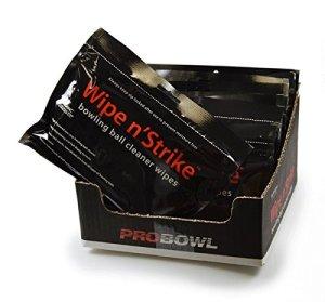 Nettoyeur de bowling Wipe N 'strike Lingettes