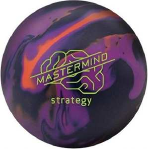 Brunswick mastemind Strategy Boule Bowling Unisexe Adulte, Mastemind Strategy, Bleu/Violet / Orange